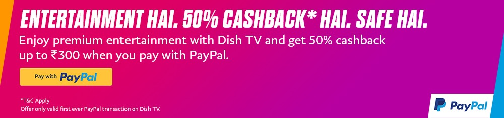 PayPal-DishTV-Rechrge-Offer